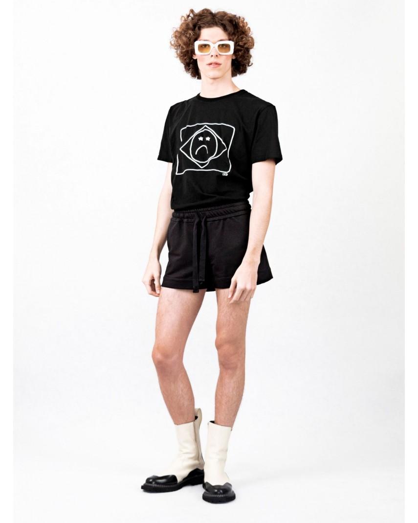 Shorts Moletom - Preto